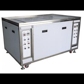 雙槽一體式超音波洗淨機 - 工業專用超音波洗淨設備